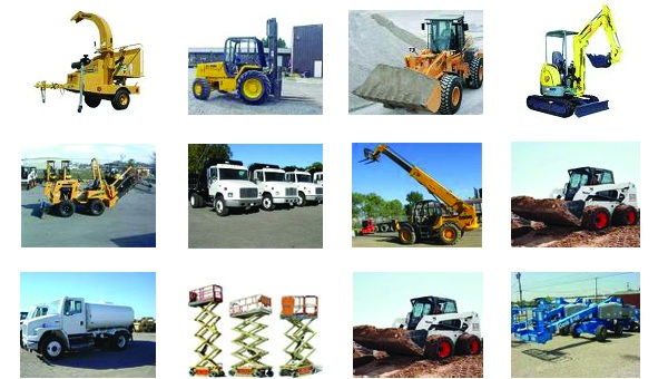 Equipment Rental and Tool Rental in Fallbrook CA and Yucca Valley CA