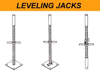 Where to find SCAFFOLD JACK, LEVELING in Fallbrook